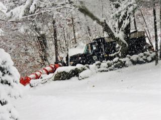 Truck Plowing